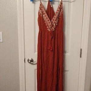 Papaya maxi boho dress